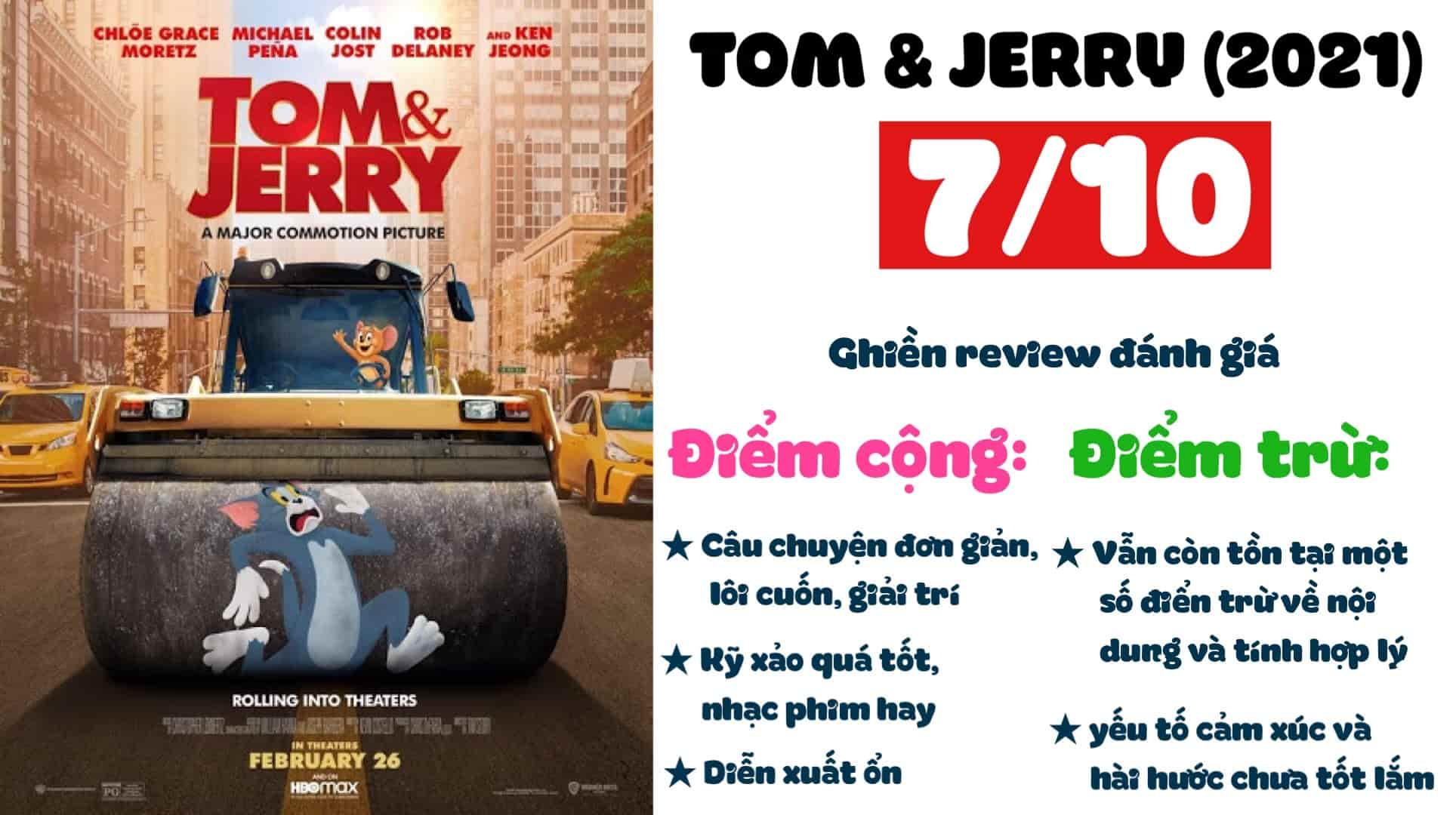 Ghien review - Tom and Jerry 2021